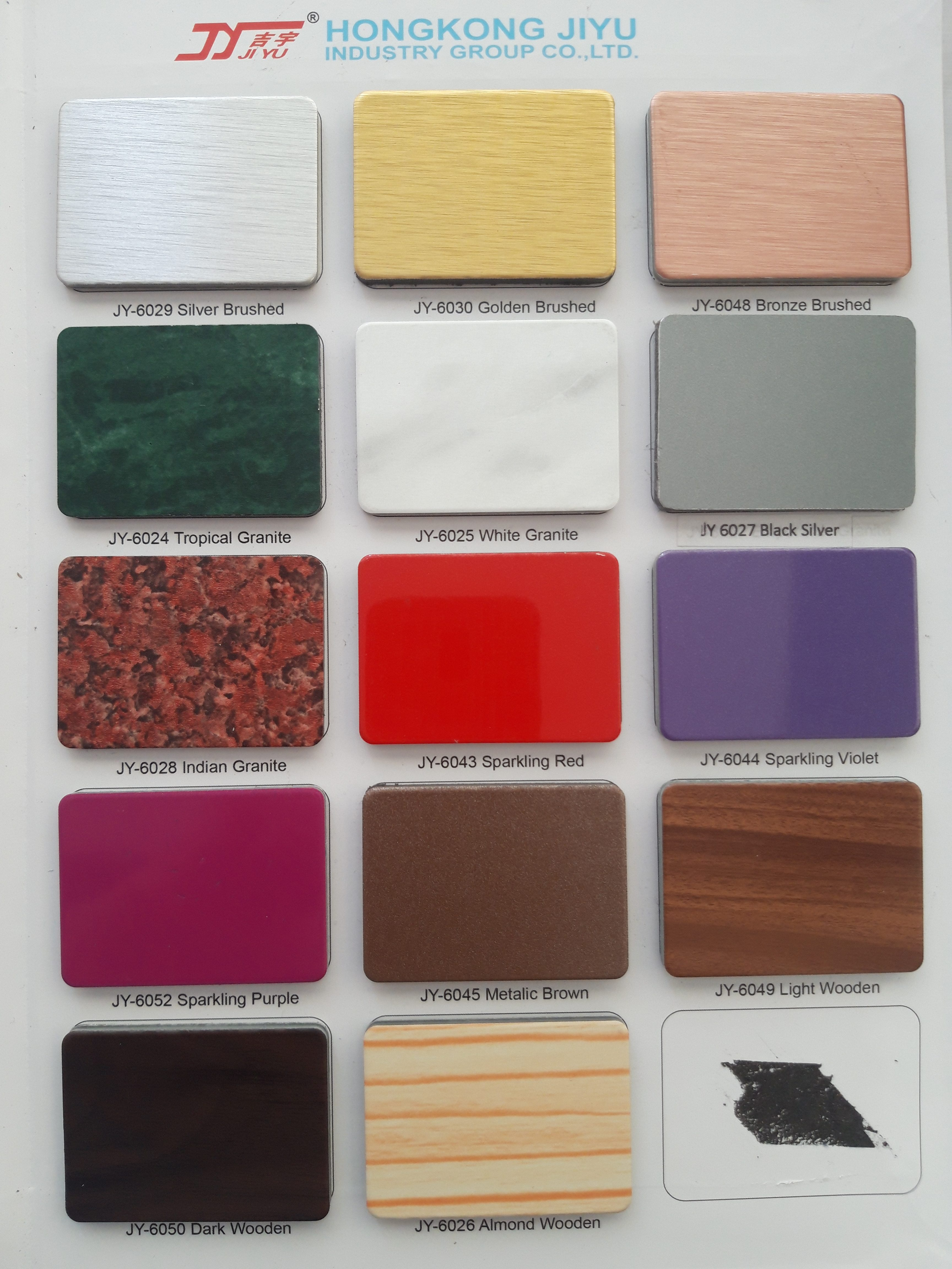 PVDF 0,3 JIYU 4mm Alumunium Composite Panel